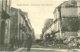 17826 - Reggio Calabria - Rovine Della Strada Aschenez F - Reggio Calabria