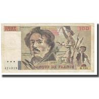 France, 100 Francs, Delacroix, 1987, STROHL FERMAN DENTAUD, TB, Fayette:69.11 - 1962-1997 ''Francs''