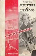 Meurtres à L'expo 58 De Francis F. Furnes (1958) - Old (before 1960)