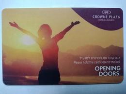 Israel Hotel Key, Crowne Plaza Hotels & Resorts (1pcs) - Hotelkarten