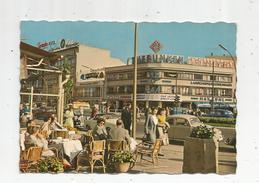 G-I-E , Cp , ALLEMAGNE , BERLIN , Kurturstendamm , Voyagé 1960 , Bar , Café , Publicité :Telefunken - Germany