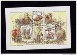 Bloc 1997 Champignon Bolet YT 247/9 Neuf ; Mi Block 9 Mint Mushrooms - Slovakia