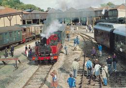 Rimaucourt Longueville CP 10 X 15 - Gares - Avec Trains