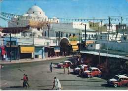 Tunisia / Tunis - Place Bab Souika - Taxi Cars - Tunisie