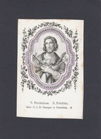 5 Devotieprenten S.Fredericus- S.Carolus Borrom - Franciscus De Sales- St.Antonius Abbas - St. Pierre - Religion &  Esoterik