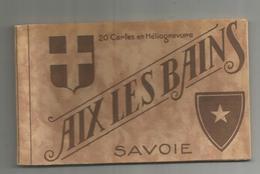 Cp , 73 , AIX LES BAINS , Photos C. Barrois , CARNET DE 10 CARTES POSTALES - Aix Les Bains