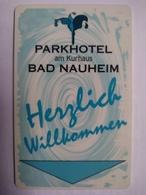 Germany Hotel Key, Best Western Park Hotel Am Kurhaus ,Bad Nauheim (1pcs) - Hotel Keycards