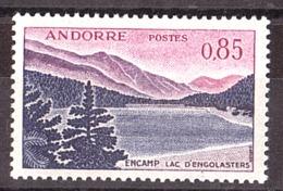 Andorre - 1961/71 - N° 163 - Neuf ** - Lac D'Engolasters à Encamp - Andorre Français