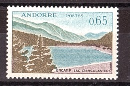 Andorre - 1961/71 - N° 162 - Neuf ** - Lac D'Engolasters à Encamp - Andorre Français
