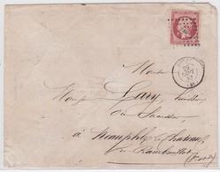 LSC - N°17A OBL. PC De BERCY  / 29 SEPT 53 - Marcophilie (Lettres)