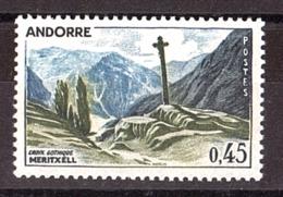 Andorre - 1961/71 - N° 160 - Neuf ** - Croix Gothique De Meritxell - Andorre Français