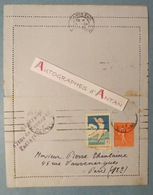 L.A.S Jules ROMAINS 1931 écrivain Comité André Theuriet à Pierre Chanlaine Né Saint Julien Chapteuil Lettre Autographe - Autógrafos