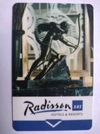 Czech Hotel Key, Radisson SAS (1pcs) - Hotelkarten