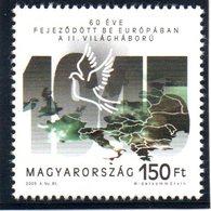 """(2WK-2) Ungarn Sonderausgabe """"60 Jahre Kriegsende"""" Mi 5020 ** Postfrisch - Ungheria"""