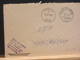 84/096 LETTRE REGIE DE LA POSTE  1973 POUR MUSSON (CACHET RECEPTION) - Belgium