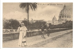 S.S. PIO X NEL GIARDINO VATICANO - Vatican