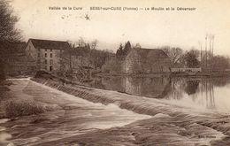 - BESSY Sur Cure (89) -  Moulin Et Déversoir  -7962- - Other Municipalities