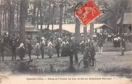 92 .n° 106714 . Chaville Velizy .etang De L Ursine Un Jour De Fete Au Restaurant Barraud . - Chaville