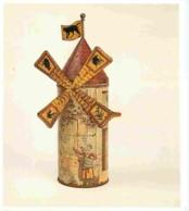 Art - Divers - Boîte Pour Le Moulin De La Galette Avec Système De Jeu De Loterie - Fer Blanc Lithographié - Collection C - Fine Arts