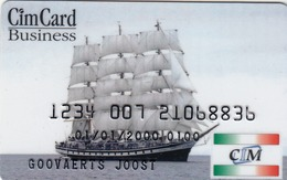 ITALY Cabin Keycard - CIM CARD BUSINESS ,used - Cartas De Hotels