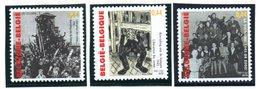 """(2WK-2) Belgien Sonderausgabe """"60 Jahre Kriegsende"""" Mi 3440/42 ** Postfrisch - Belgio"""