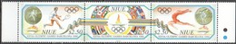 Niue 1992 Yvertn° 587-589 *** MNH Cote 30 € Sport Jeux Olympiques Barcelona - Niue