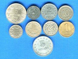 Yougoslavie 9  Pieces - Yugoslavia