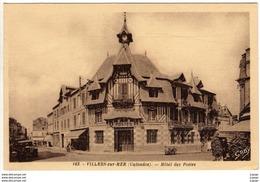 VILLERS SUR MER  Hôtel Des Postes       2 Scans  TBE - Villers Sur Mer