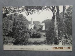 CPA 29 CLEDER - Le Château De KERGOURNADEA'CH - Vue Prise De L'étang  Environs Morlaix , Saint Pol De Léon 1910 - Cléder