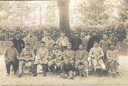 78 - Le Mesnil St Denis - Carte Photo - Hôpital Temporaire Auxiliaire (Cachet De L'Hôpital) Voir Scan (Rare) - War 1914-18