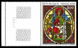 N°2363b, Vitrail Jaune Au Lieu De Vert, Bdf. SUP (certificat)  Qualité: **  Cote: 500 Euros - Errors & Oddities
