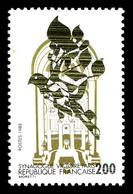 N°2516, 2f Synagogue, Couleur Noire Presque Absente. TTB (signé Calves/certificat)  Qualité: **  Cote: 550 Euros - Errors & Oddities