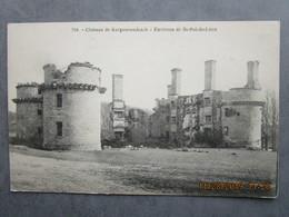 CPA 29 CLEDER - Le Château De KERGOURNADEA'CH Kergournadeach  -  Environs Morlaix , Saint Pol De Léon 1910 - Cléder