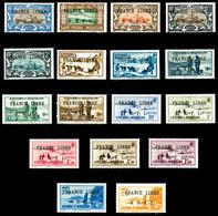 SAINT PIERRE ET MIQUELON, N°237, 239*, 240, 242, 243, 250, 253, 255, 256, 259, 262, 263, 264, 265, 267, 269, 270, TB  Qu - Unused Stamps