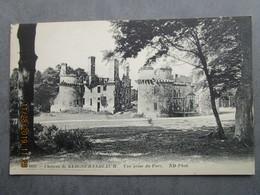 CPA 29 CLEDER - Le Château De KERGOURNADEA'CH - Vue Prise Du Parc, Environs Morlaix , Saint Pol De Léon 1910 - Cléder