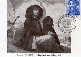 1958 Gustave Courbet Ornans  Chien Noir - 1950-59
