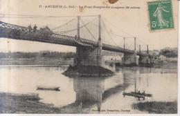Ancenis Le Pont Suspendu 1911 - Ancenis