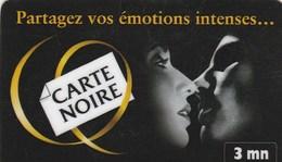 TISCALI..3 MN...CARTE NOIRE - Frankrijk