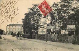 VAL D'OISE  ARGENTEUIL  HAMEAU DU VAL NOTRE DAME  Route D' Argenteuil - Argenteuil