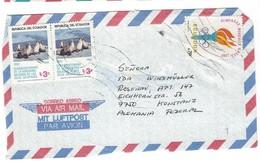 COVER CORREO AERO - VIA AIR MAIL - KONSTANZ - ALEMANIA. OLIMPIADAS MUNDIALE MOSCOU 1980- GALAPADOS. - Equateur