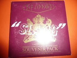 CD N°4350 - DEF LEPPARD - SLANG - COMPILATION 3 TITRES - COFFRET LIMITED EDITION + 4 CARTES POSTALES DU GROUPE - New Age