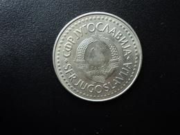 YOUGOSLAVIE : 100 DINARA   1987      KM 114      SUP+ - Jugoslawien