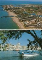 Le Cap D'Agde Lot De 8 Cartes Postales Heliopolis, Fort Brescou, Bateau Promenade, Multivues - Autres Communes
