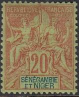 Sénégambie Et Niger - N° 07 (YT) N° 7 (AM) Neuf *. - Sénégambie Et Niger (1903-1906)
