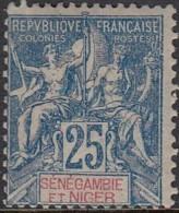 Sénégambie Et Niger - N° 08 (YT) N° 8 (AM) Neuf *. Petit Manque De Gomme. - Sénégambie Et Niger (1903-1906)