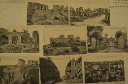 02 - Coucy Le Chateau - Lot De 8 Cartes Postales (CPA) - Guerre 1914-1918 (voir Photo) - War 1914-18