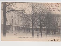 Collège D'auxerre Cour Des Grands - Auxerre
