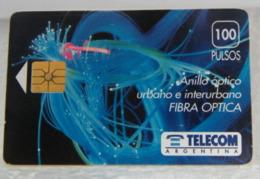 SCHEDE TELEFONICHE, ARGENTINA FIBRA OTTICA - Argentina