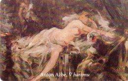 SLOVENIA - THEMATIC PAINTING - ANTON AZBEV IN HAREM - Slovénie