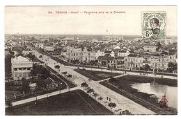 TONKIN - HANOI - Panorama Près De La Citadelle - Ed. P. Dieulefils, Hanoi - Vietnam